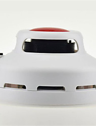 Smoke Detector with Double Red Dome Light Alarm Mode And Highly Sensitive Smoke Sensor