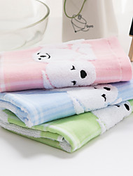 1 PC Full Cotton Wash Towel 13 by 13 inch Cartoon Pattern Super Soft