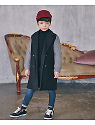 Boy's Formal Solid Suit & BlazerOthers Winter / Fall Black