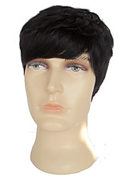 2016 горячей продажи прямые продажи человеческих волос человека парики, сделанные совершенным toupe ручной работы мужские парики