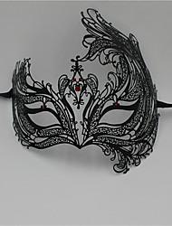 Women's Venetian Phoenix Inspired Laser Cut Masquerade Mask5005C1