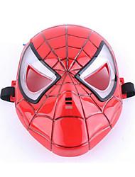 Pour Halloween Ange et Diable Fête / Célébration Déguisement Halloween Rouge Mosaïque / Imprimé Masque Halloween Unisexe PVC
