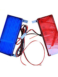 Square Box LED Security Warning Lamp Lights Flashing Warning Lamp For Car