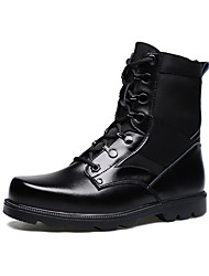 Westland's Men's Boots Fashion Boots / Motorcycle Boots / Work & Safety Leather Outdoor / Black