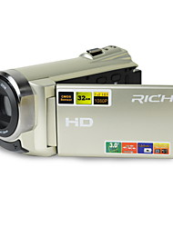 1080p / 15fps Full HD-camcorder met 16.0mp met 3.0inch LCD touch screen dual card slots (tf / sd) videocamera (HDV-501)