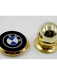 voiture téléphone mobile / téléphone portable 24k support en métal ferromagnétique 360 degrés de rotation véhicule multifonctionnel