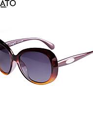 Sunglasses Women's Elegant / Modern / Fashion Anti-UV / Glasses Case / Cleaning Cloth / Anti-Reflective OvalSunglasses /