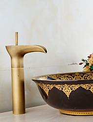 Waschbecken Wasserhahn im Vintage-Stil antique brass hoch Waschbecken Wasserhahn