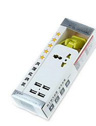 Travel With Length Of 1.5 M 5V4A Intelligent Power Converter Outlet