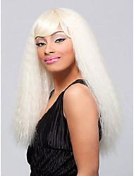Nicki Minaj estilo de celebridade onda sexy do clube perucas sintéticas para as mulheres negras