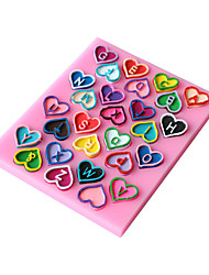 1PC Diy Baking Mold Cake Mold 3D Silicone Mould Cake Decorating Baking Tool  Random Color