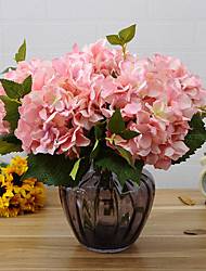 A Bouquet of Wedding Party Artificial Hydrangea Flower