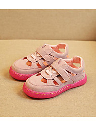 Unisex Sandals Spring / Summer / Fall Sandals Synthetic Outdoor / Casual Flat Heel Others Brown / Pink / Gray Walking