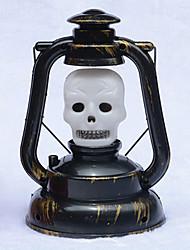 1pc Halloween commande vocale fantôme appelé lumière portable lanterne restauration anciennes façons de citrouille lampe de halloween