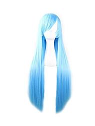 парик косплей Парики для женщин Синий Карнавальные парики Косплей парики