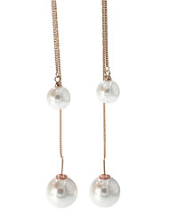 Earring Others Drop Earrings Jewelry Women Fashion Wedding / Party Imitation Pearl / Gold Plated 1 pair Gold