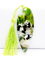 Chinese National Treasure Panda Cute Wind Archaic Vein Bookmark Diy Exquisite Gift Souvenir