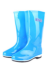 Unisex Boots Spring / Winter Rain Boots / Closed Toe / Rubber Outdoor Low Heel Others Blue / Green / WhiteWater Shoes