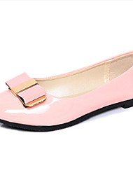 Women's Flats Spring / Fall Comfort Leatherette Outdoor / Casual Flat Heel Others Black / Pink / White Others