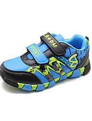 Garçon-Décontracté-Bleu-Talon Plat-Bout Arrondi-Chaussures d'Athlétisme-Polyuréthane