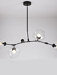 Villa Industrial Wind Restoring Ancient Ways Glass Ball Chandelier