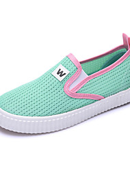 Girl's Loafers & Slip-Ons Summer Comfort Tulle Casual Flat Heel Others Green / Red / Light Green Others
