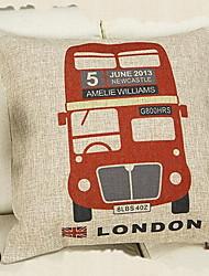 British Style Union Jack Sofa Cushion Car Home Couple Cotton Cloth Pillow Digital Prints