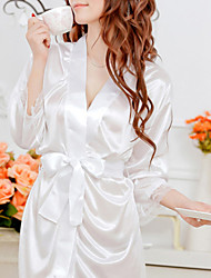 Shuxuer ® Women Lace/Polyester Robes/Ultra Sexy Nightwear(with Belt And T-back)