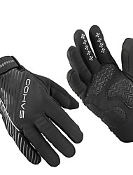 Sahoo Winter Bicycle Full Finger Gloves Men Women Bicycle Bike Cycling Gloves GEL Luvas Bicicleta Guantes Ciclismo
