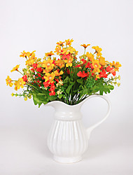 1PC  Household Artificial Flowers Sitting Room Adornment Flowers  Polyester Daisies  Artificial   Flowers