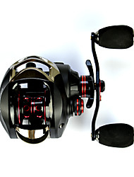 Baitcast Reels High Gear Ratio Left-hand 7.0 18Ball Bearings  Sea Fishing-OX fishdrops Casting Reel Salt Water Proof