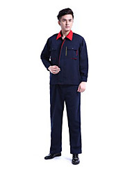 Spring And Autumn Long-sleeved Overalls Suit Male Size 180