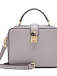 LaFestin® Women Sheepskin Shoulder Bag Pink / Gray / Black-618717
