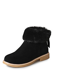 A big new winter snow boots boots code tube thick soled boots cotton boots.