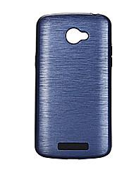 Para Antichoque Capinha Capa Traseira Capinha Cor Única Rígida PC para LG LG K10 LG K8 LG K5 LG G5 LG V20