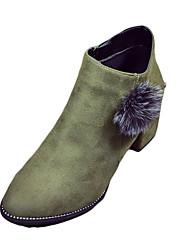 Для женщин Ботинки Удобная обувь Армейские ботинки Полиуретан Весна Повседневные Для прогулок Удобная обувь Армейские ботинки Пом помНа