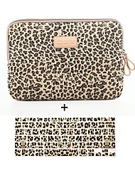 Brown Leopard Prints Laptop Cover and Slicone Keyboard Cover for MacBook Air 13''/MackBook Pro 13'' with Retina