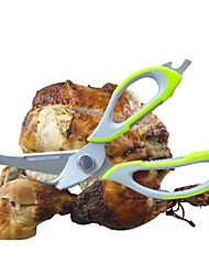 Multifunction Mighty Shears Kitchen Knife Cutting Board Scissors TurkeyTools Meat Vegetable Peeler 10 in 1