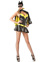 New!!Superhero Costume Sexy Batgirl Costumes Women Halloween Costumes Superhero Fancy Dress
