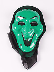 (Patrón es aleatorio) 1pc fiesta de Halloween máscara de la mascarada gritar fantasma vampiro máscara de esqueleto