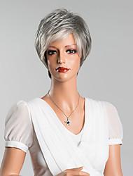 новая мода короткие прямые парики монолитным человеческие волосы высокого качества смешанный цвет