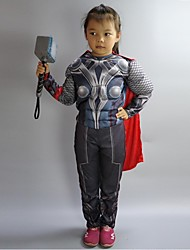 The Super Hero Costumes Classic Muscle cosplay Child  costumes Boys Cosplay Kids Carnival party cosplay