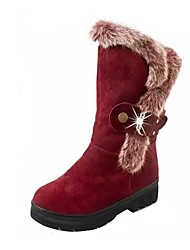 Women's Shoes Libo New Style Hot Sale Casual / Night Club Comfort Black / Red / Camel Fashion Snow Boots