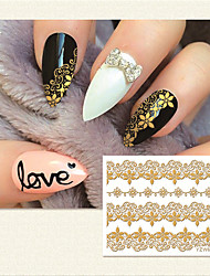 1pcs Nail Art Sticker  3D Nail Stickers Makeup Cosmetic Nail Art Design