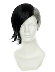 Tokyo Ghoul Mr Bai Half Black Half White Special Styling Halloween Wigs Synthetic Wigs Costume Wigs