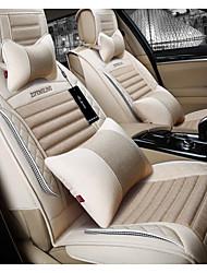 New Flax Car Cushion Four Seasons Universal Breathable Health Seat Cushion Universal Seasons