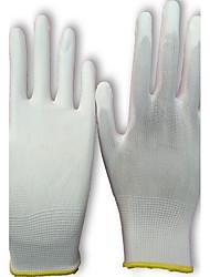 Tragen Sie Arbeits weich und bequem dünnen Abschnitt der Handschutz Handschuhe Farbe weiß Größe 7