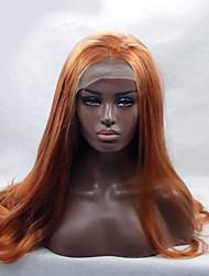 cabelo resistente marrom natural peruca sintética do laço frente peruca marrom longo ondulado calor elegante frente de americano africano