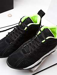 Women's Athletic Shoes Spring / Summer / Fall / Winter Comfort Suede Casual Low Heel Lace-up  Running / Sneaker