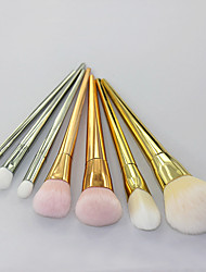 7 Contour Brush / Blush Brush / Eyeshadow Brush / Lip Brush / Concealer Brush / Powder Brush / Foundation Brush Nylon / Synthetic Hair